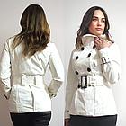 Стильний Піджак Блейзер Білого кольору. В наявності S, M, фото 8
