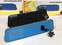 Відеореєстратор DVR DV 460 дзеркало з двома камерами ART-2001, фото 1