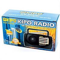 Радіоприймач KIPO KB 308AC Чорний