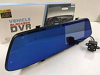 Видеорегистратор T605 HD/3998 зеркало с двумя камерами BlackBox 1080p сенсорный экран (20 шт/ящ)