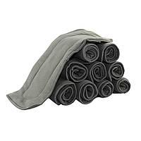 Вкладыши бамбук - угольные 6 ти слойный , для многоразового подгузника. Бамбуково угольный