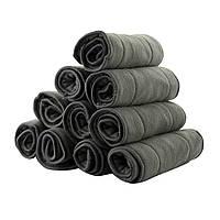 Вкладыши бамбук - угольные 5 ти слойный , для многоразового подгузника. Бамбуково угольный