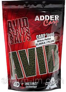 Пеллетс Adder Carp AC Mikro Pellet 2 мм, Слива