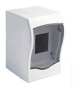 Бокс для автоматів, вимикачів на 2 модулів Meksbox відкритої установки