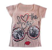 Детская футболка I love the city Турция 6 лет