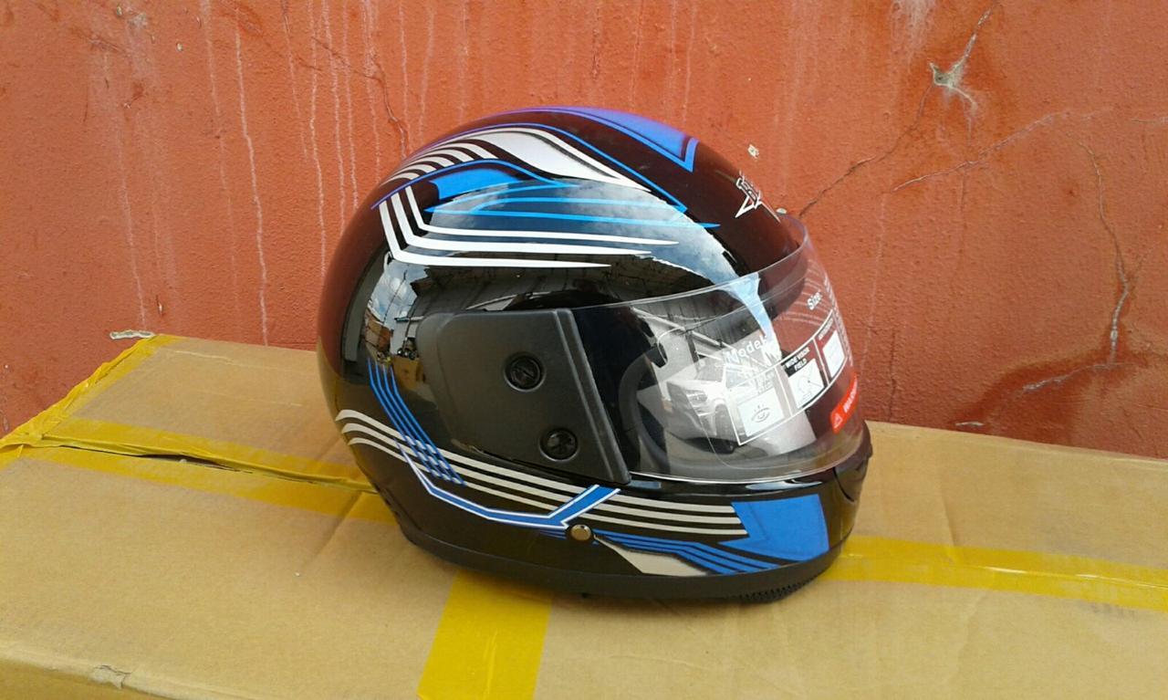 Шлем-интеграл BLD-825 Monster Energy черный