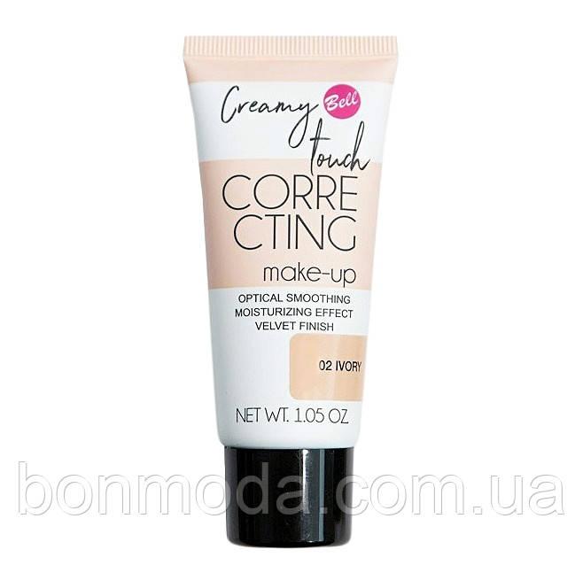 "Тональный флюид для лица Bell Creamy Touch Correcting Foundation ""Ivory"" № 02"