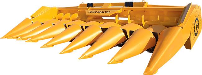 Жатка для уборки кукурузы ЖК-60 с интегрированным измельчителем
