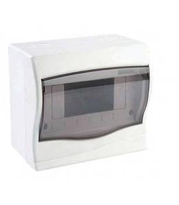 Бокс для автоматів, вимикачів на 6 модулів Meksbox відкритої установки