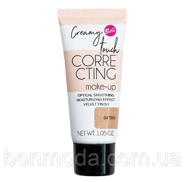 "Тональный флюид для лица Bell Creamy Touch Correcting Foundation ""Tan"" № 04"