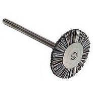 Щетка Бизон из серебристой проволоки, прямой наконечник, 19мм, Renfert , щітка Бізон, фото 1