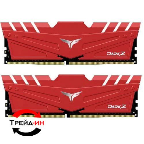 DDR4 16Gb (2x8) Team T-Force Dark Z Red 3000 MHz (TDZRD416G3000HC16CDC01)