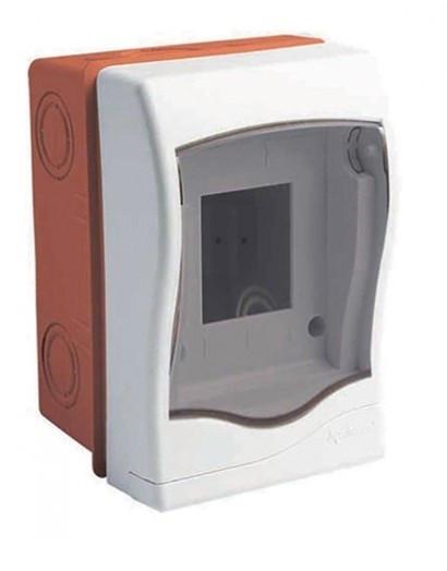 Бокс для автоматов, выключателей на 2 модулей  Meksbox встраиваемый