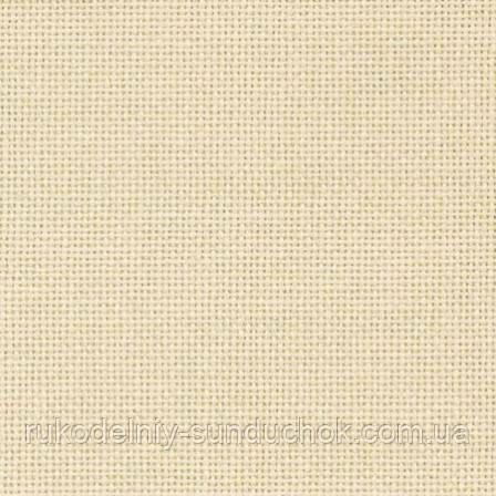 Ткань равномерного переплетения Linda 27 ivory (кремовый) 1235/264   Zweigart (Германия) 50*46см