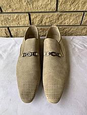 Туфли мужские летние DALAO, фото 2