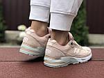 Женские кроссовки New Balance 991 (пудровые) 9407, фото 2