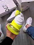 Чоловічі кросівки Nike Air Max 270 Flyknit (біло-зелені) 415TP, фото 2