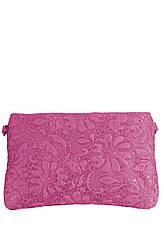 KISHA малиновая женская кожаная сумка крос боди Divas Bag