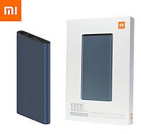 Оригинальный Xiaomi Mi Power Bank 3 10000 mAh PLM13ZM Black (VXN4260CN) Быстрая Зарядка QC3.0 18W