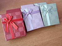Коробка картонна подарункова із паралоновою подушечкою, упаковка мікс 3 шт