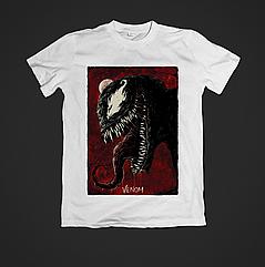 Футболка YOUstyle Venom 0378 XS White