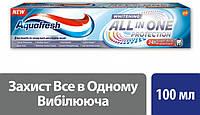 "Зубная паста ""Отбеливающая"" Aquafresh All in One Protection 100 мл"