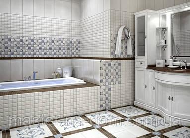 Как облицовать пол в ванной