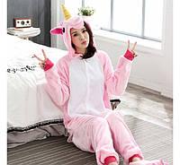 Детский домашний костюм для девочки Розовый единорог