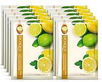Тканевая маска для лица с экстрактом лимона Bioaqua Lemon Nourishing Mask