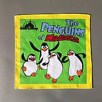 """Дитячий носовичок """"Пінгвіни"""" (батист), фото 1"""