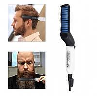 Мужской Утюжок Выпрямитель для Бороды и Волос Modelling Comb For Beaut, фото 1