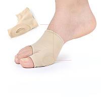 Мягкий стягивающий бандаж для большого пальца стопы