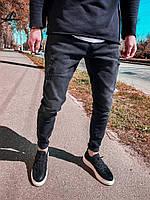 Мужские черные молодежные джинсы на весну 29-32 Размер
