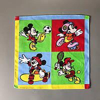 """Дитячий носовичок """"Міккі і Мінні"""" (батист), фото 1"""