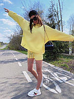 Женский спортивный костюм (бомбер+шортики)