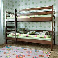Кровать Засоня 80 х 190 см без ящиков (орех темный)