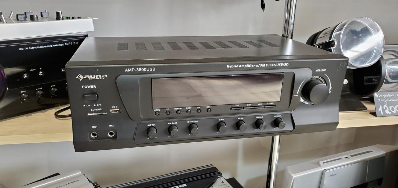 Усилитель звука 5.1 Auna Amp-3800