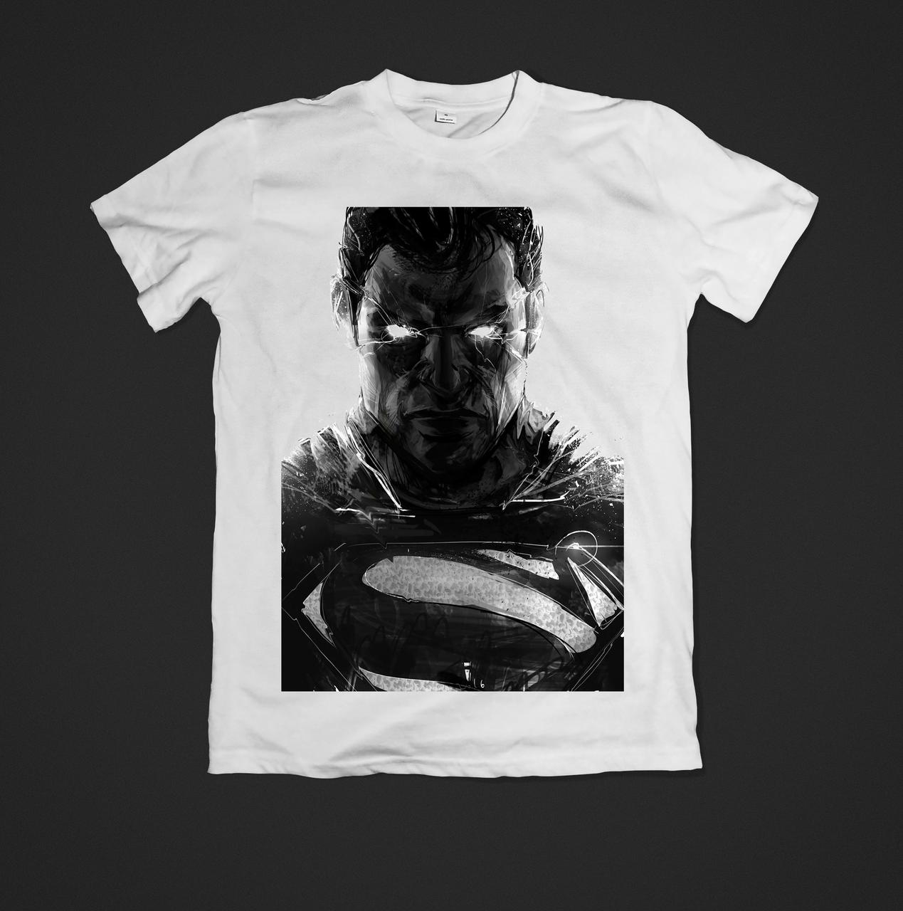 Футболка YOUstyle Superman 0391 XL White