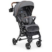 Легкая прогулочная коляска EL CAMINO ME 1039L IDEA Gray | Коляска Эль ME 1039 Камино Идея Серый лен