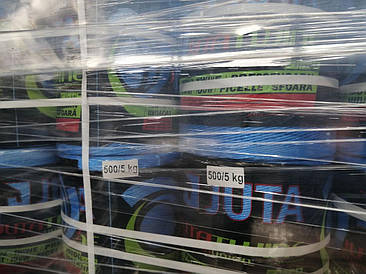Шпагат сеновязальный JUTA 500 / Юта ПП 500; 2500 м, 95 кг на разрыв с НДС - для рулонных тюков