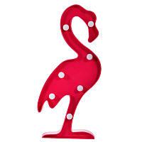 Ночник фламинго малиновый
