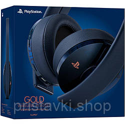 Playstation 4 Gold Wireless Headset 500 Million Limited Edition