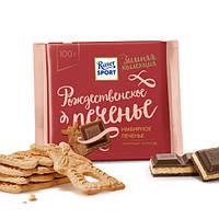 Шоколад  Ritter Sport Имбирное печенье 100 г.