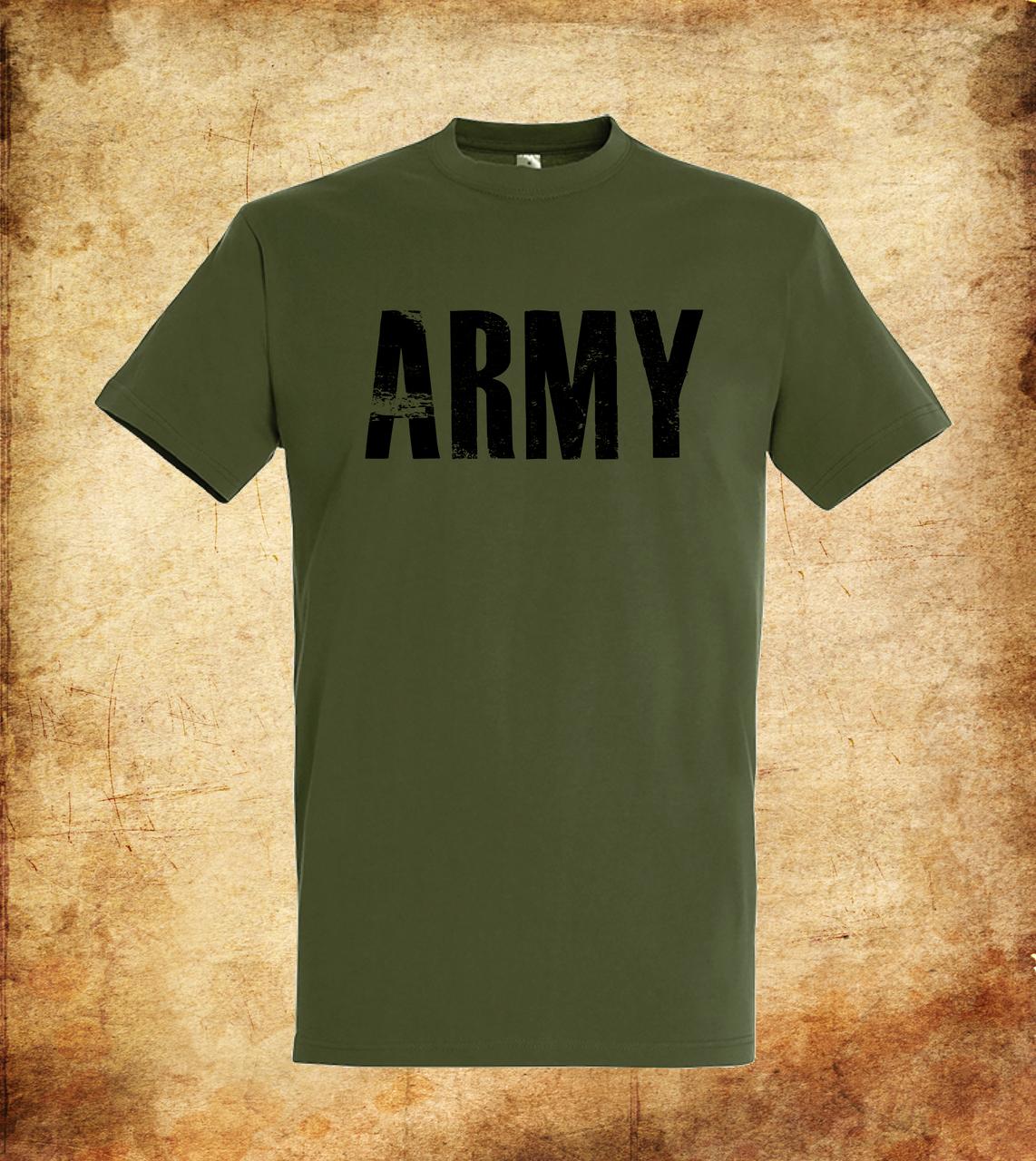 Футболка YOUstyle Army 0321 XXL Army