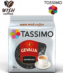 Кофе в капсулах Тассимо - Tassimo Gevalia ESPRESSO (16 порций)