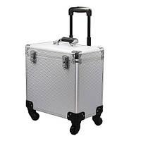 Сумка-чемодан мастера металлический раздвижной на колёсах, СМ-24220