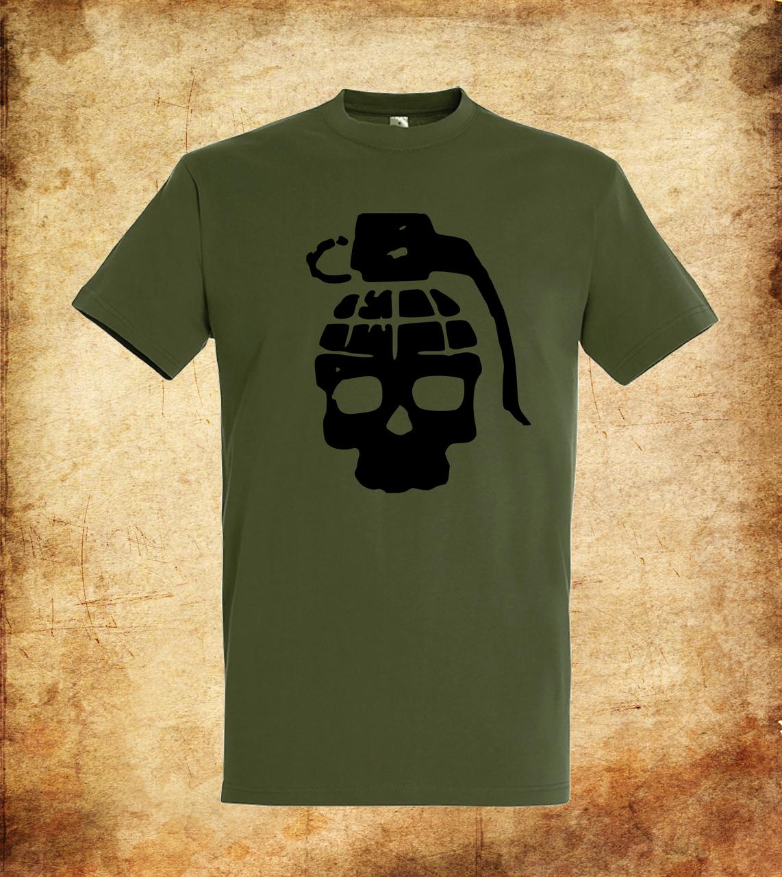 Футболка YOUstyle Grenade 0323 XL Army