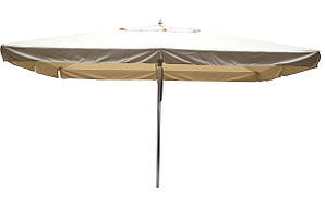 Зонт 3х3м для кафе бежевый (садовый)