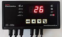 Inter Electronics IE-28n автоматика для твердотопливных котлов с автоматической подачей топлива (шнеком)