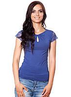 Женская футболка больших размеров (от S до 3XL в расцветках)
